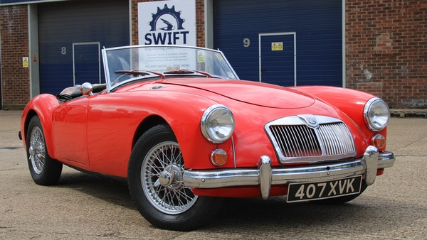 1958 MGA 1500 Roadster For Sale (picture 6 of 51)