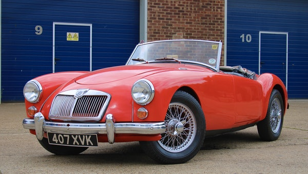 1958 MGA 1500 Roadster For Sale (picture 9 of 51)