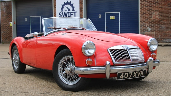1958 MGA 1500 Roadster For Sale (picture 16 of 51)