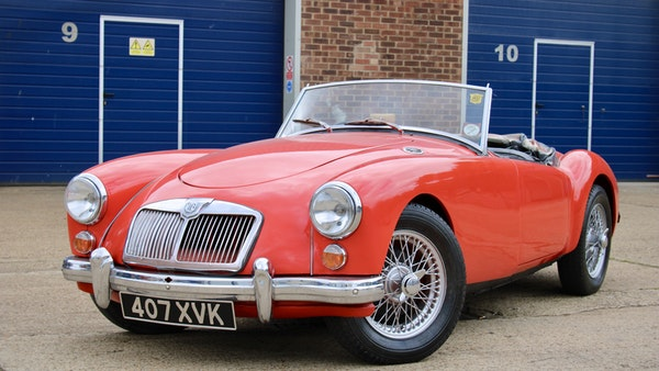 1958 MGA 1500 Roadster For Sale (picture 15 of 51)