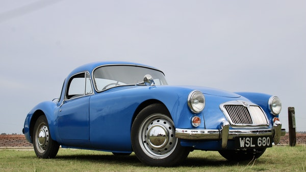 1960 MGA 1600 Coupé For Sale (picture 6 of 100)