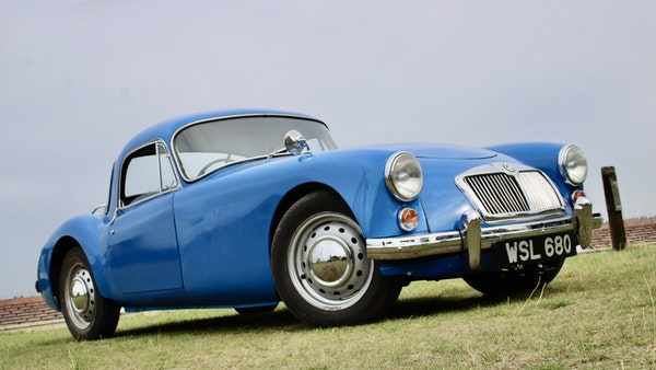 1960 MGA 1600 Coupé For Sale (picture 7 of 100)