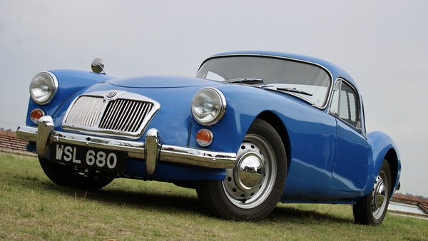 1960 MGA 1600 Coupé For Sale (picture 14 of 100)