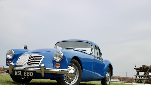 1960 MGA 1600 Coupé For Sale (picture 16 of 100)