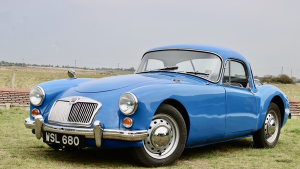 1960 MGA 1600 Coupé For Sale (picture 17 of 100)