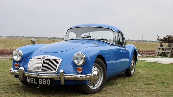 1960 MGA 1600 Coupé For Sale (picture 13 of 100)
