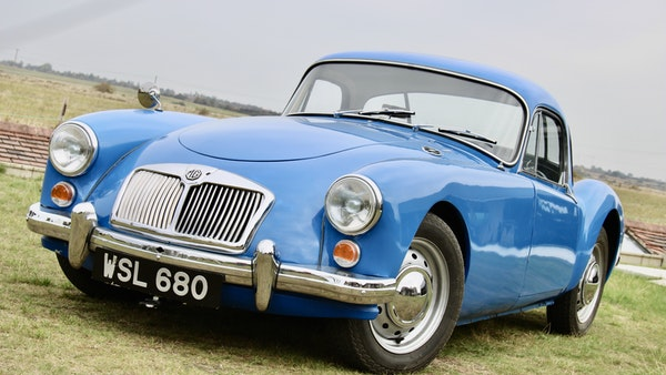 1960 MGA 1600 Coupé For Sale (picture 4 of 100)