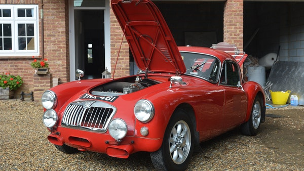 RESERVE LOWERED 1958 MGA Coupe For Sale (picture 27 of 212)