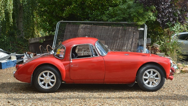 RESERVE LOWERED 1958 MGA Coupe For Sale (picture 12 of 212)
