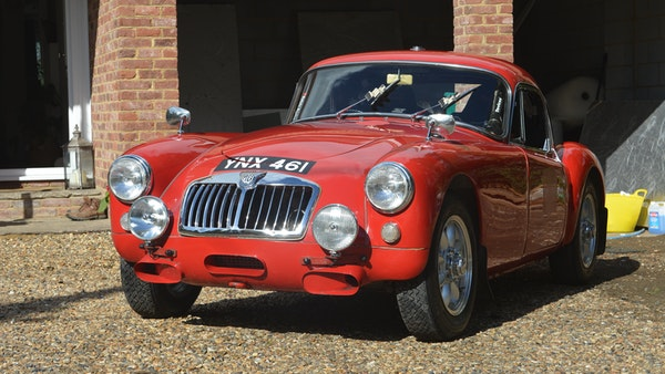 RESERVE LOWERED 1958 MGA Coupe For Sale (picture 6 of 212)