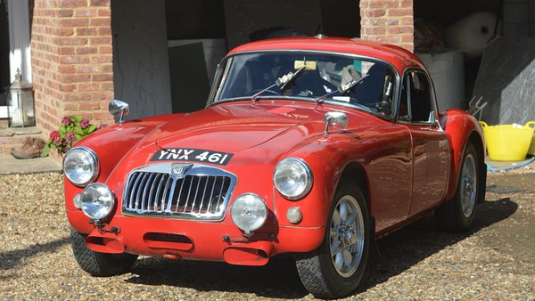 RESERVE LOWERED 1958 MGA Coupe For Sale (picture 5 of 212)