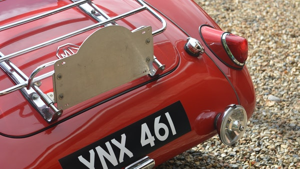 RESERVE LOWERED 1958 MGA Coupe For Sale (picture 110 of 212)