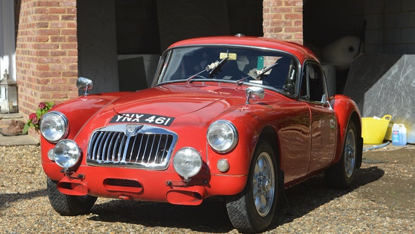 RESERVE LOWERED 1958 MGA Coupe For Sale (picture 3 of 212)