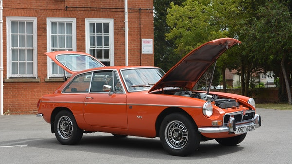 1974 MGB GT V8 For Sale (picture 54 of 170)