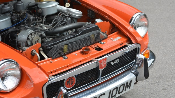 1974 MGB GT V8 For Sale (picture 140 of 170)