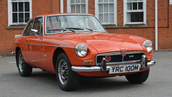 1974 MGB GT V8 For Sale (picture 24 of 170)