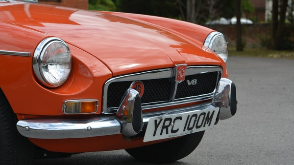 1974 MGB GT V8 For Sale (picture 7 of 170)
