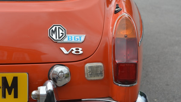 1974 MGB GT V8 For Sale (picture 104 of 170)