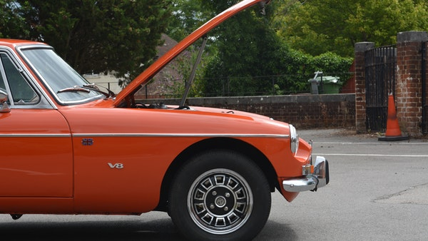 1974 MGB GT V8 For Sale (picture 102 of 170)