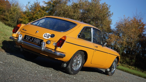 NO RESERVE! - 1972 MGB GT For Sale (picture 14 of 163)