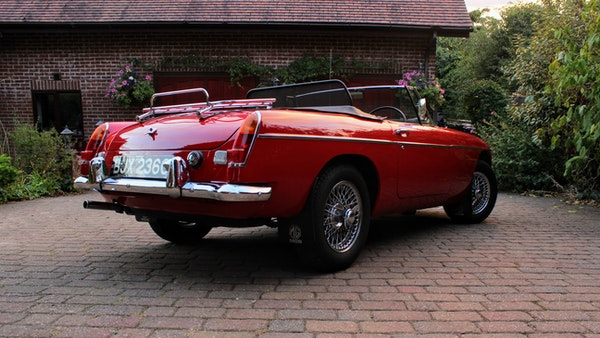 1965 MGB Roadster For Sale (picture 10 of 121)