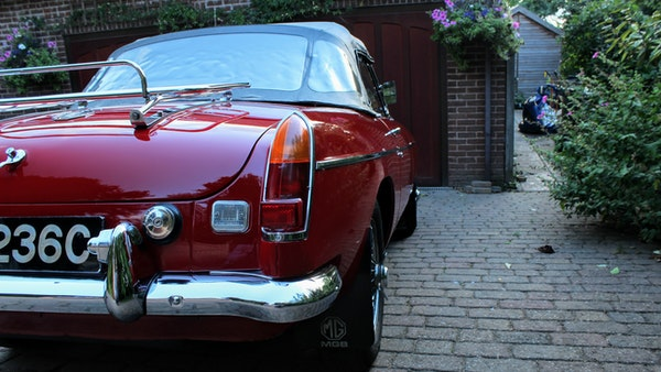 1965 MGB Roadster For Sale (picture 52 of 121)