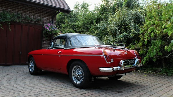 1965 MGB Roadster For Sale (picture 17 of 121)
