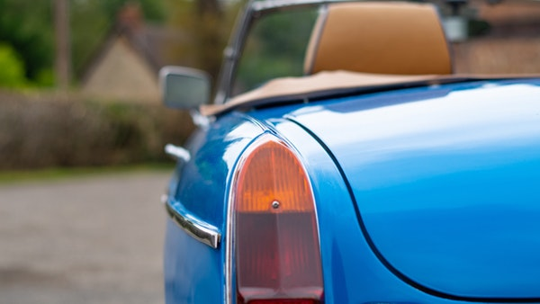 1979 MGB Roadster For Sale (picture 71 of 116)
