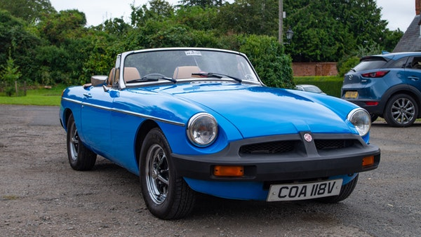 1979 MGB Roadster For Sale (picture 6 of 116)