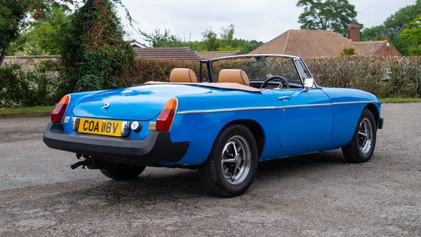 1979 MGB Roadster For Sale (picture 8 of 116)