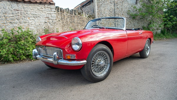 1967 MGC Roadster For Sale (picture 6 of 177)