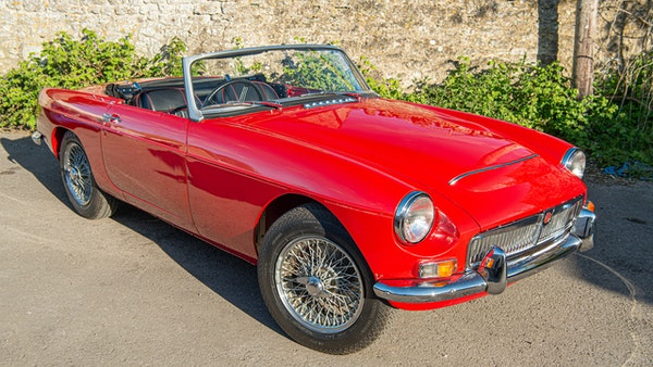 1967 MGC Roadster For Sale (picture 13 of 177)