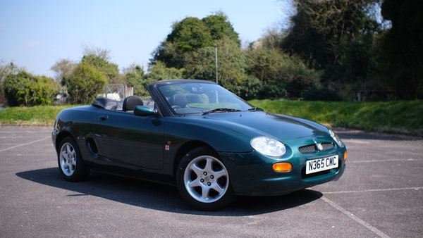 NO RESERVE! 1996 MGF 1.8 MPI For Sale (picture 9 of 214)