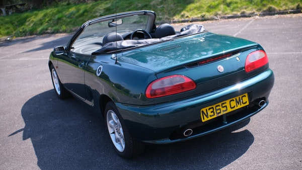 NO RESERVE! 1996 MGF 1.8 MPI For Sale (picture 5 of 214)