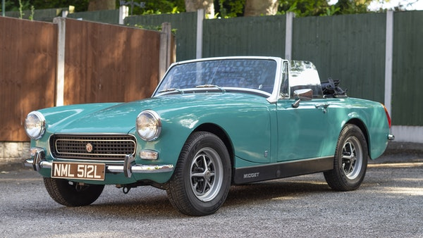 1972 MG Midget Mk3 (Round Wheel Arch) For Sale (picture 1 of 155)