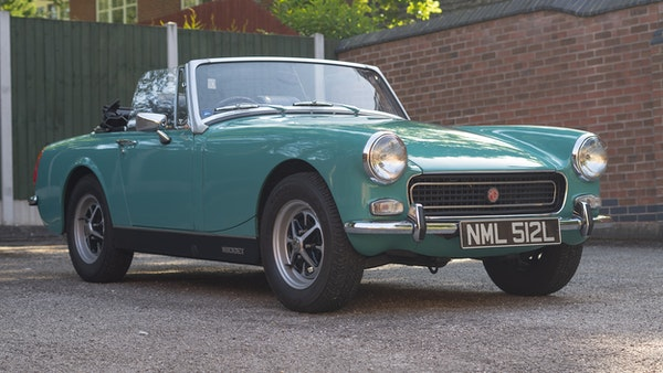 1972 MG Midget Mk3 (Round Wheel Arch) For Sale (picture 9 of 155)