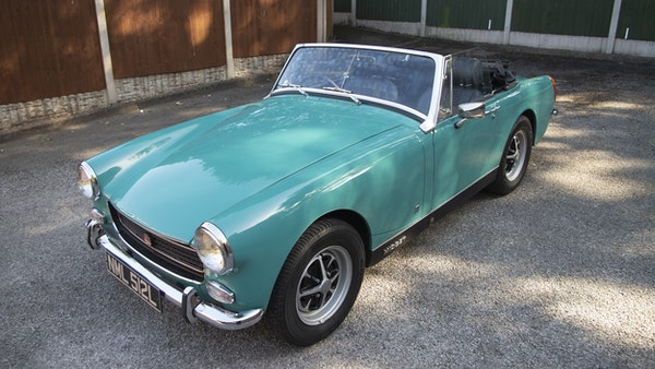 1972 MG Midget Mk3 (Round Wheel Arch) For Sale (picture 3 of 155)