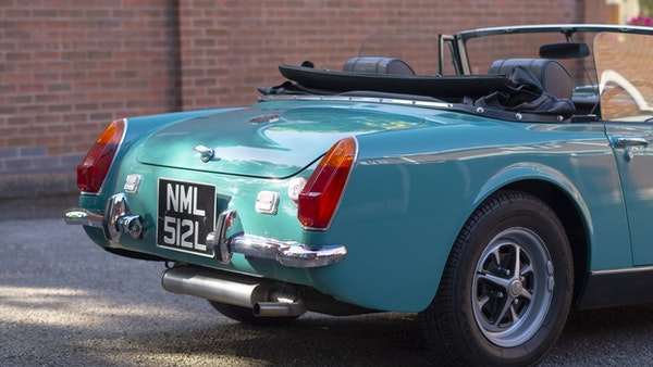1972 MG Midget Mk3 (Round Wheel Arch) For Sale (picture 89 of 155)