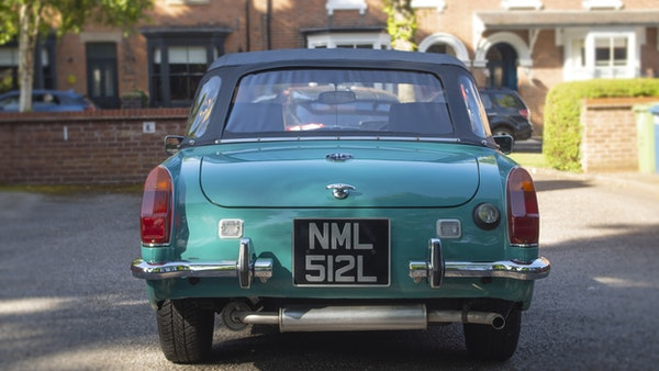 1972 MG Midget Mk3 (Round Wheel Arch) For Sale (picture 18 of 155)