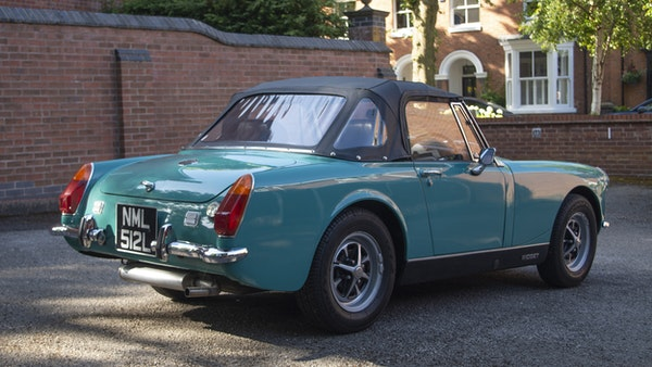 1972 MG Midget Mk3 (Round Wheel Arch) For Sale (picture 19 of 155)
