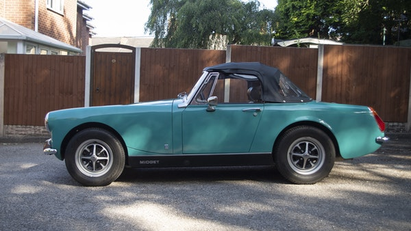 1972 MG Midget Mk3 (Round Wheel Arch) For Sale (picture 15 of 155)