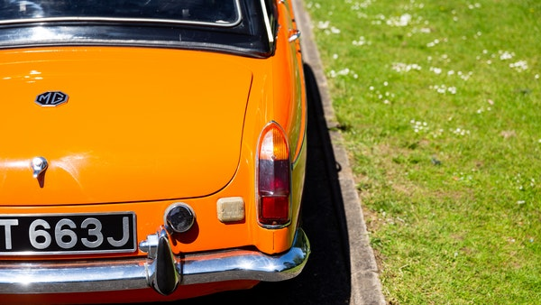 1971 MGB Roadster For Sale (picture 94 of 141)