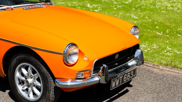 1971 MGB Roadster For Sale (picture 124 of 141)