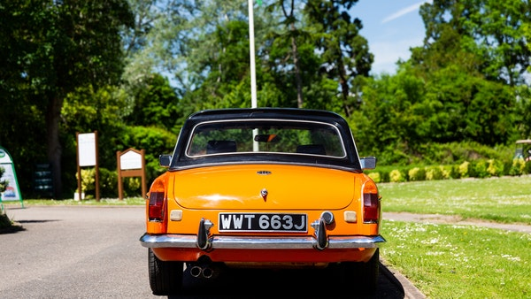 1971 MGB Roadster For Sale (picture 10 of 141)