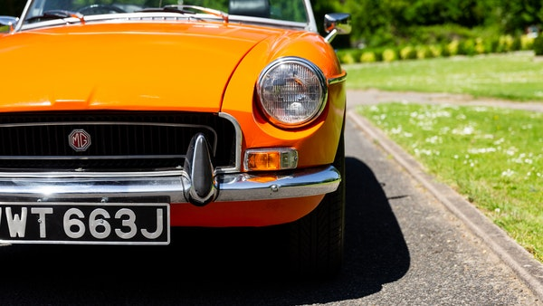 1971 MGB Roadster For Sale (picture 120 of 141)