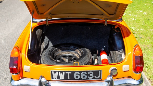 1971 MGB Roadster For Sale (picture 86 of 141)