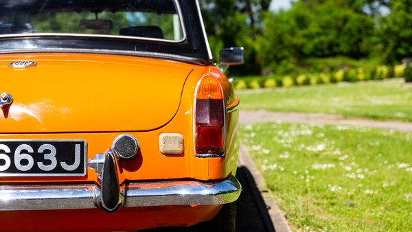 1971 MGB Roadster For Sale (picture 95 of 141)