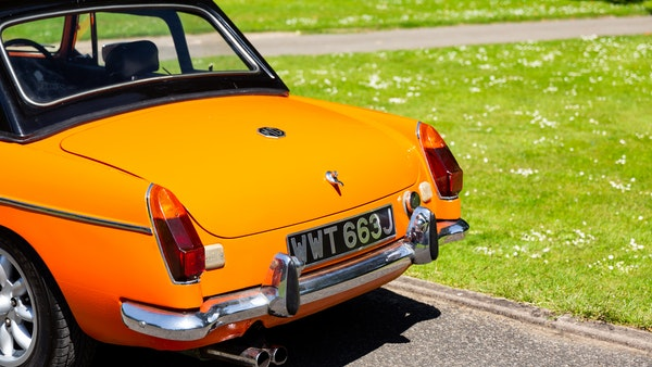 1971 MGB Roadster For Sale (picture 98 of 141)