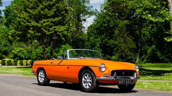 1971 MGB Roadster For Sale (picture 3 of 141)