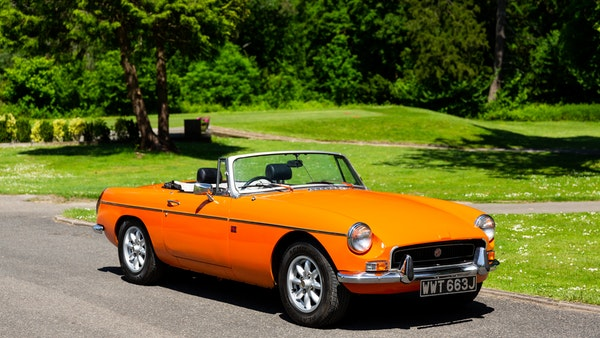 1971 MGB Roadster For Sale (picture 1 of 141)